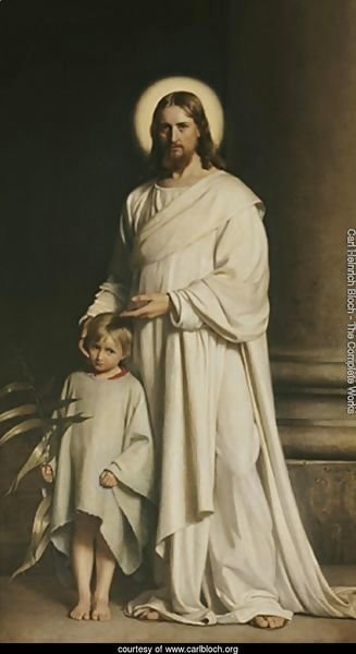 Christ and a Boy