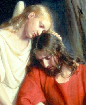 Carl Heinrich Bloch - Christ at Gethsemane [detail #1]