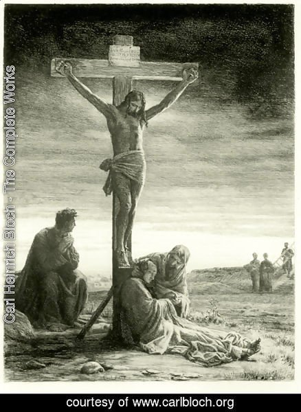 Carl Heinrich Bloch - Crucifixion of Christ