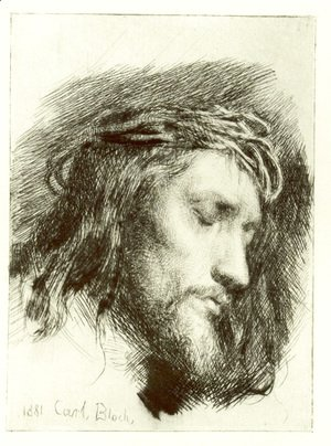 Carl Heinrich Bloch - Portrait of Christ