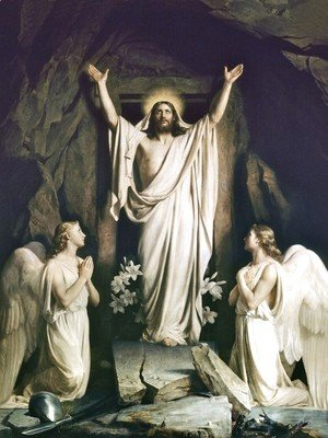 Carl Heinrich Bloch - Resurrection of Christ