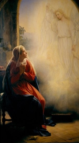 Carl Heinrich Bloch - The Annunciation
