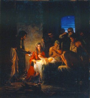 Carl Heinrich Bloch - The Birth of Christ