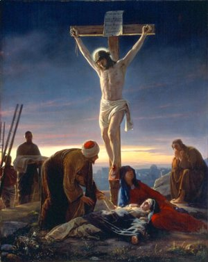 Carl Heinrich Bloch - The Crucifixion