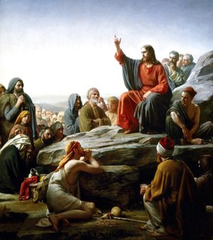 Carl Heinrich Bloch - The Sermon on the Mount