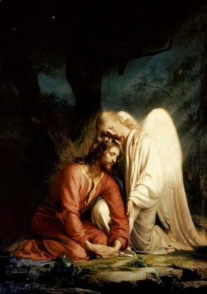 Carl Heinrich Bloch - Christ at Gethsemane I
