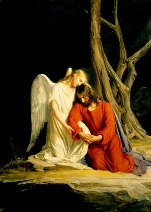 Carl Heinrich Bloch - Christ at Gethsemane II