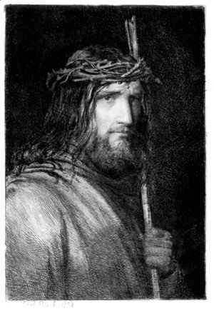 Carl Heinrich Bloch - Portrait of Christ I